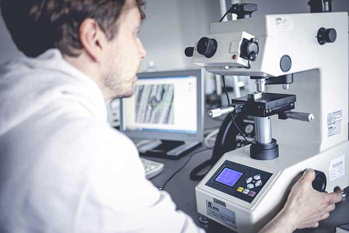Metaltempra - Esame microscopico